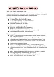 Clínica - Curetas