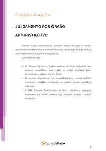 Arbitragem - Resumo