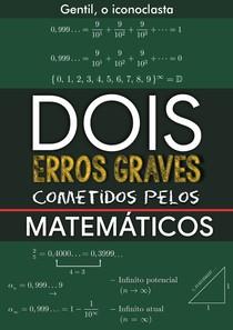 Gentil Lopes  - Artigo DOIS ERROS GRAVES COMETIDOS PELOS MATEMÁTICOS