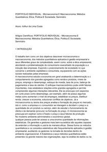 PORTIFOLIO INDIVIDUAL Macroeconomia