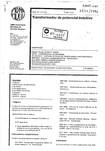 NBR 6855 Transformador de Potencial Indutivo