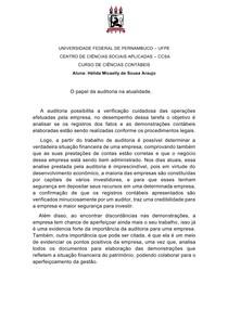 Atv 1º Hélida Araujo- o papel da auditoria