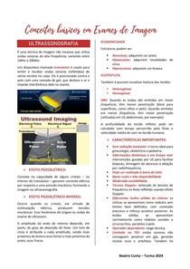 Conceitos básicos em Tomografia Computadorizada, Ultrassonografia e Ressonância Magnética