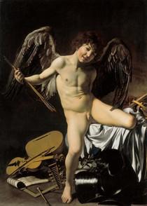 Caravaggio - Amor Vincet Omnia (Cupid)