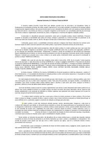 NOTAS SOBRE PRESCRIÇÃO E DECADÊNCIA_REVISTO