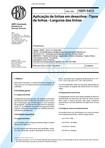 NBR 8403 - Tipos de linhas