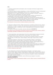 AS 1 - CULTURA BRASILEIRA UNICID