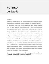 ROTEIRO DE ESTUDO