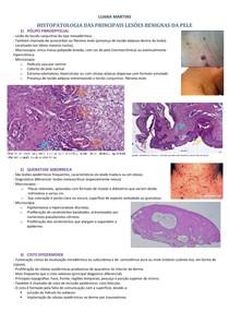 Histopatologia das principais lesões de pele