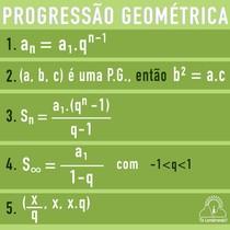 Pacotinho: Progressão Geométrica