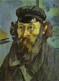 Paul Paul Cézanne - Self Portrait in a Casquette