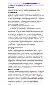 PNEUMOCONIOSE PARTE 4: PULMÃO DO MINERADOR DE CARVÃO