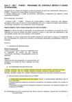 AV 2 - revisão aulas 6 a 10