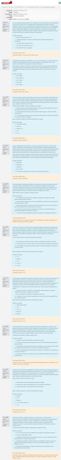 AV1 - Fundamentos da Economia II