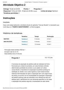 Atividade Objetiva 2_ Fundamentos e Processos Logísticos 02 - FAM