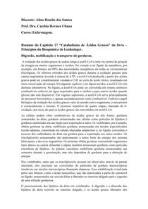Resumo de catabolismo-