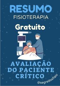 Avaliação do Paciente Crítico