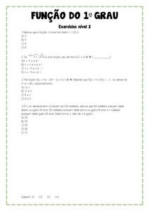 função NIVEL 2