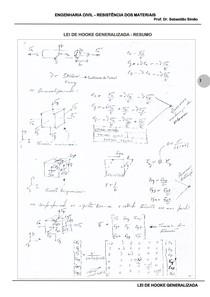 Lei de Hooke Generalizada