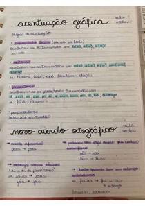 Resumo de português - gramática
