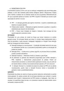 BIOMECÂNICA DAS PRÓTESES PARCIAIS REMOVÍVEIS