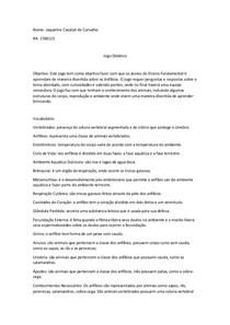 PCC Principos de Zoologia de Vertebrados