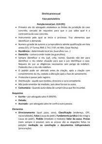 AULA - Direito Proc Civil 2 - Procedimento comum
