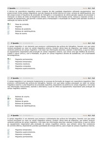 SIMULADO RESSONANCIA MAGNETICA