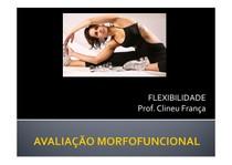 Avaliação Morfuncional Aula 11   Flexibilidade