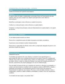 ADMINISTRAÇÃO FINANCEIRA  GST0434