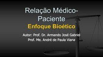 AULA 8 - Relação Médico-Paciente Bioetica
