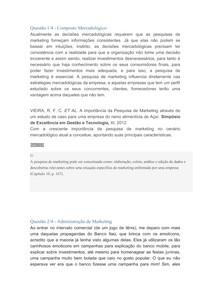 Prova Discursiva Administração de Marketing/Composto Mercadológico