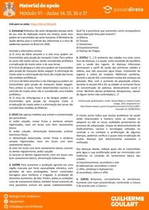Módulo 6 - aula 14 15 16 17 - Verminoses (Nematelmintos)