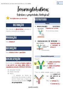 Imunoglobulinas: estruturas e propriedades biológicas