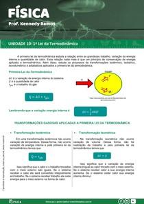 10 1 Lei da Termodinâmica