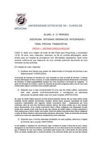PROVA INTEGRADA PR2 I