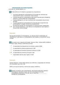 ORGANIZAÇÃO DE COMPUTADORES gab 09 10 2018 total