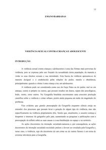 ARTIGO VIOLENCIA CONTRA CRIANÇA E ADOLESCENTE