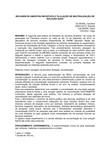 2013.2 - UNIME - Farmácia - I-BIM. - Química Analítica I - Segundo Relatório