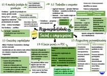 Mapa mental da terceira aula de Responsabilidade Social e Empresarial