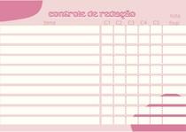 Controle de redação - temas e notas por competência