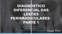 diagnóstico diferencial das lesões perirradiculares -PARTE 1