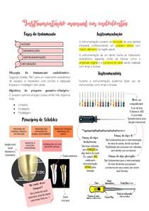 Instrumentação manual em endodontia