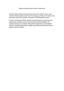 Vacina contra coranavirus