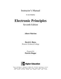 Eletronica 1 Malvino 7ed Respostas (em ingles)