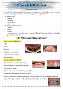 CLAREAMENTO DENTAL- DIAGNÓSTICO E PLANEJAMENTO