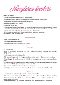 Naegleria fowleri - Helmitologia