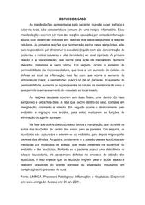 ESTUDO DE CASO Processos Patológicos