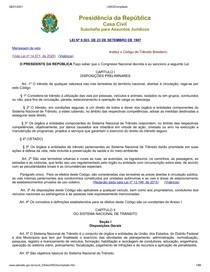 CTB 2021 - Atualizado para PRF