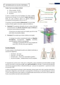 Deformidades da coluna vertebral